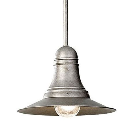 ship s bell antique pewter pendant light barn light