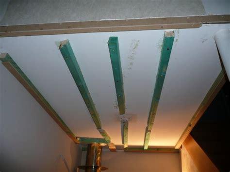 faux plafond pour le la construction de notre maison