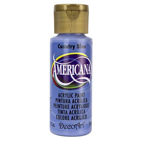decoart americana 2 oz country blue acrylic paint dao41 3