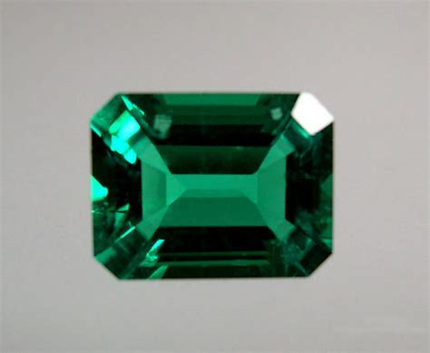 Hydrothermal Lab Created Emerald Green Octagon Loose Stone. Custom Emerald. Oblong Emerald. 4 Man Emerald. 4ct Emerald. Topaz 10270 Emerald. Panna Emerald. Leaf Emerald. Oval Cabochon Emerald