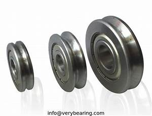 V Groove Wire Guide Straightening Bearings A1500 2z 15 U00d747 U00d711mm