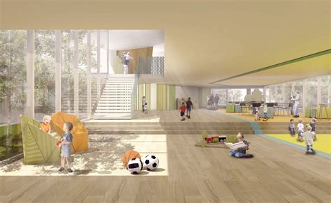 school  classrooms berlin competition  architect