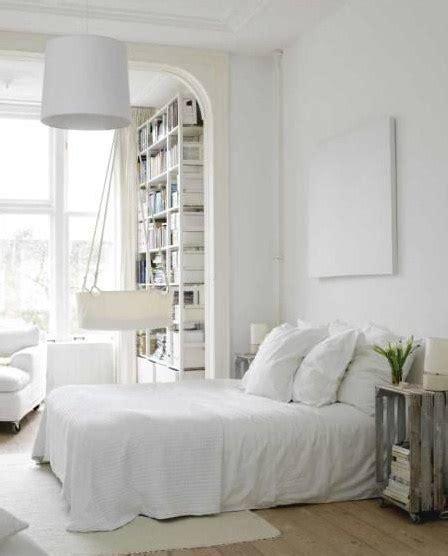 chambre à coucher blanche chambre a coucher blanche bricobistro