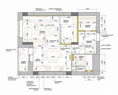 Layout Studio Apartment Simple Studios Plans Floor