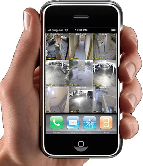 view on iphone holt security systems providing the security you need