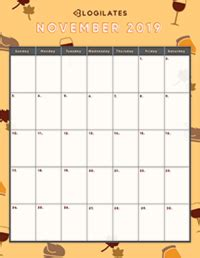 legit cutest  printable calendars blogilates
