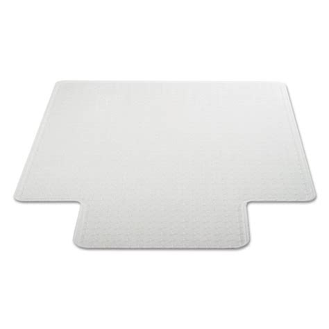 universal 174 studded chair mat for low pile carpet 45 x 53
