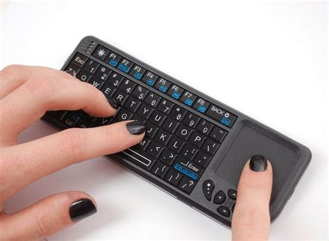 raspberry pi drahtlose tastatur wireless mini keyboard