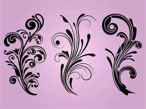 free vector design free floral designs vector graphics freevector
