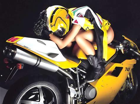 Best Babe Sport Bike Wallpaper