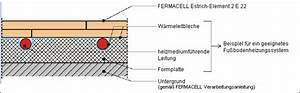 Estrich Dicke Fußbodenheizung : estrichelemente von fermacell die perfekte ~ Lizthompson.info Haus und Dekorationen