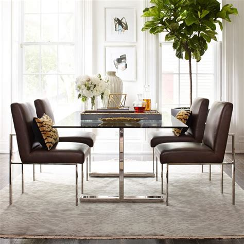 32243 furniture dining table favored mercer dining table with glass top williams sonoma