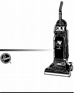 Hoover Vacuum Cleaner Windtunnel Upright Bag Vacuum