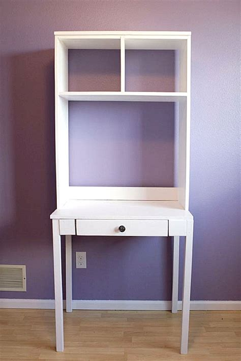 small desk ideas diy diy hutch desk decoist