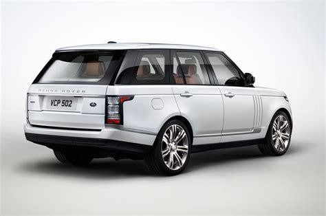 2018 Land Rover Range Rover Autobiography Black Rear Three