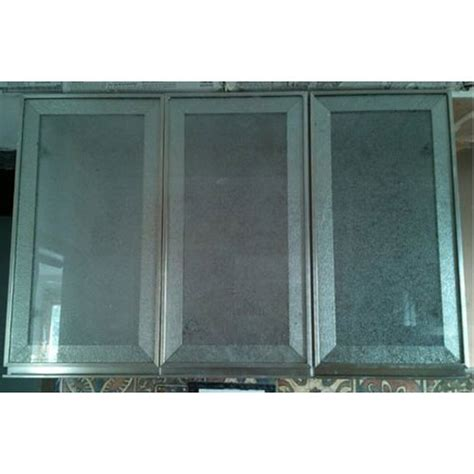 Permalink to Frosted Glass Kitchen Cabinets