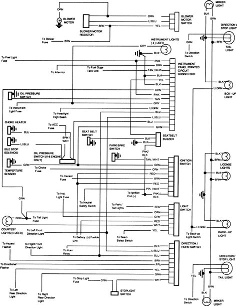 1981 Gmc Wiring Diagram by 1999 Gmc Truck Jimmy 2wd 4 3l Sfi 6cyl Repair Guides