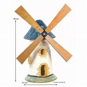 Moulin Deco Jardin : moulin de jardin ardoise d coration de jardin 56cm pas cher ~ Teatrodelosmanantiales.com Idées de Décoration