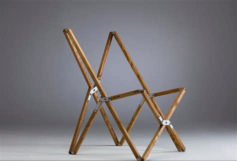 object of desire handmade folding c chair by a mind