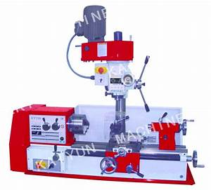 China Multi Function 3 In 1 Bench Lathe Drill Mill Machine