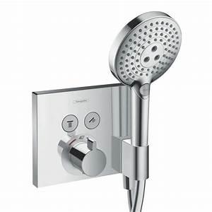 Grohe Unterputz Thermostat Ersatzteile : hansgrohe showerselect thermostat unterputz f r 2 verbraucher mit fixfit und portereinheit ~ Buech-reservation.com Haus und Dekorationen