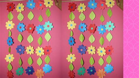 diy wall hanging craft ideas  colour paper