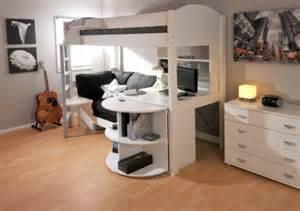 designer hochbett kinder hochbett mit schreibtisch und lagerschränken ausgestattet