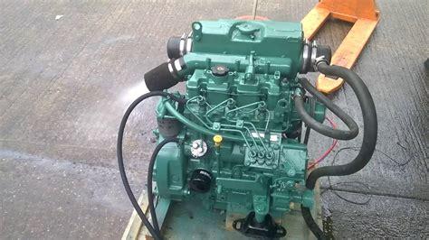 volvo penta md hp marine diesel engine youtube