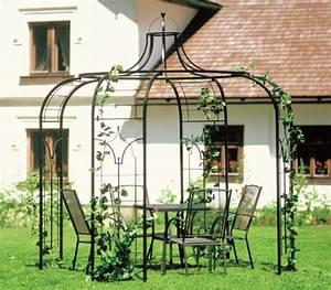 Gartenpavillon Aus Metall : pavillon gartenpavillon 240cm aus metall 89 kg ~ Michelbontemps.com Haus und Dekorationen