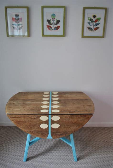 images  drop leaf table redo  pinterest