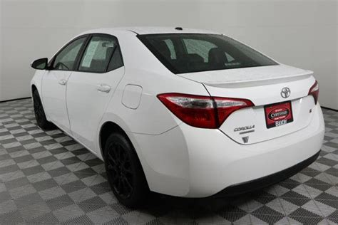 pre owned  toyota corolla  wspecial edition pkg dr car  lincoln  baxter toyota