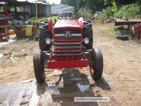 massey ferguson 135 diesel restored