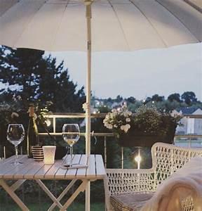 kleinen balkon gestalten wohnkonfetti With markise balkon mit tapete gestalten