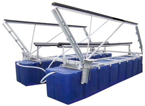 World Cat Boat Cradle by Classic Boat Lifts Boat Floater Industries
