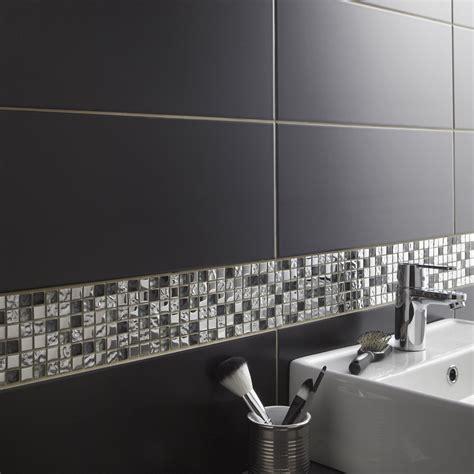 mosaique autocollante cuisine mosaïque mur tendance gris leroy merlin