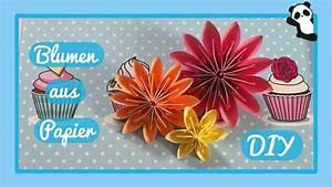 Blumen Aus Papier : blumen aus papier diy youtube ~ Udekor.club Haus und Dekorationen