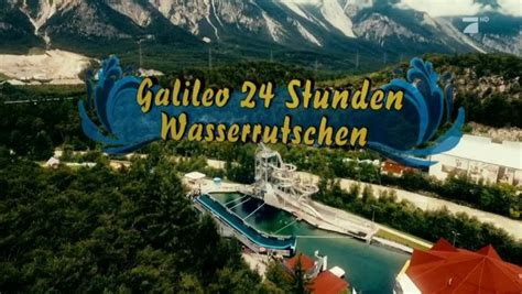 Wasserrutsche  Galileotv  Das Onlinewissensmagazin