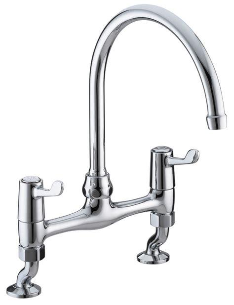 Bristan Value Lever Bridge Kitchen Sink Mixer Tap With