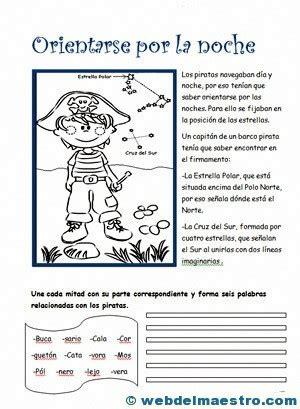 Ejercicios De Comprensión Lectora  Web Del Maestro