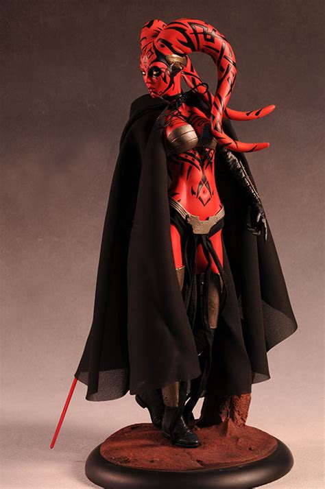 darth talon star wars mini bust  premium format statue