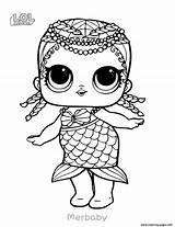 Coloring Lol Pages Doll Printable Surprise sketch template
