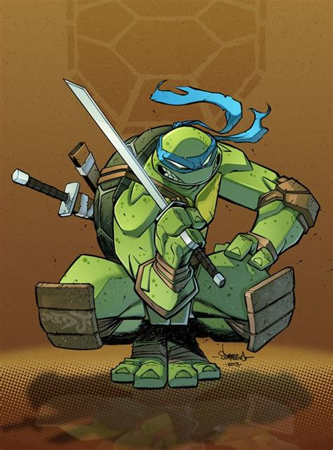 TMNT Leonardo by Red J deviantart com on deviantART