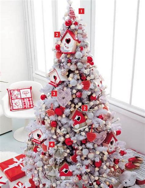 beautiful christmas decor  charming  fashioned red colors