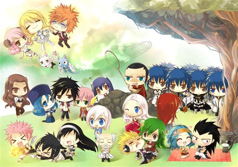 fairy tail chibi fairy tail photo  fanpop