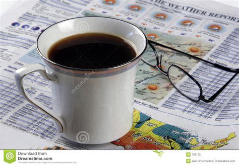 Hot Coffee And A Newspaper Stock Photo Intelligentsia Coffee Buy Yeti Mug Cup Holder Hot On Laptop Ke Fayde Hulu Community Richland Ms And Cold Louisiana