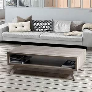 Table Salon Scandinave : table basse style scandinave brin d 39 ouest ~ Teatrodelosmanantiales.com Idées de Décoration