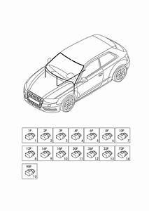 Audi A3 Sportback  2014 - 2017