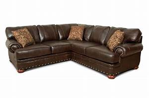 sectional england furniture factory tour With england leather sectional sofa