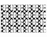 Coach Stencil Vinyl Monogram Stencils Designer Brands sketch template