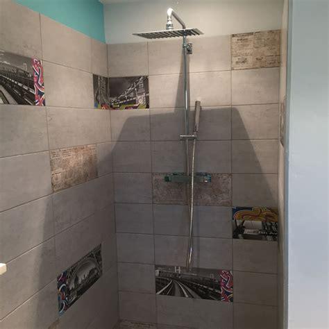 faience cuisine design exemple salle de bain carrelage